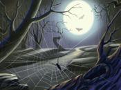 Нощна мистерия картичка Хелоуин!