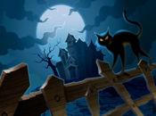 Картичка зловеща нощ Хелоуин!