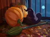 Картичка типична Хелоуин!