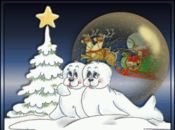Анимирана Новогодишна Картичка