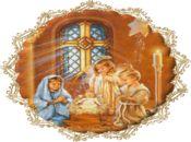 Рождество Христово! Анимирана детска картичка!