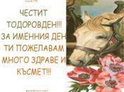 Честит Тодоров Ден!