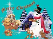 Коледна анимирана картичка1260