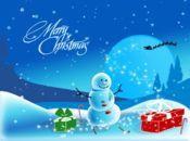 Коледна анимирана картичка1264