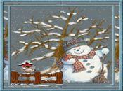 Коледна анимирана картичка1268