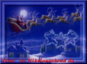 Коледна анимирана картичка1276