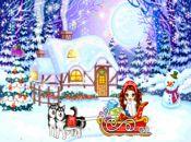 Коледна анимирана картичка-зимно вълшебство!