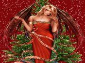 Коледна анимирана картичка!Светеща елха!