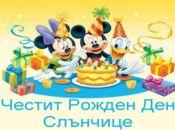 Рожден ден слънчице!