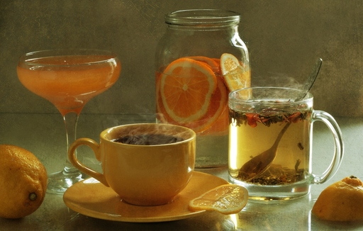 Наздравица с наторални питиета !