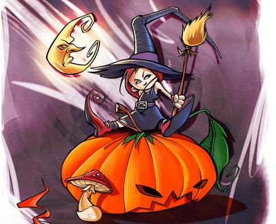 Честит празник–halloween