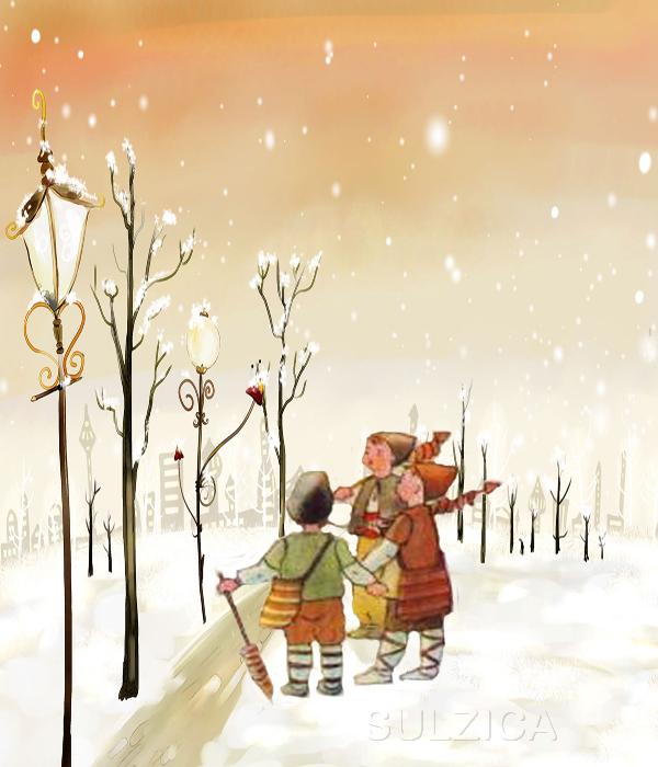 Снежна Коледа ! Коледарчета!
