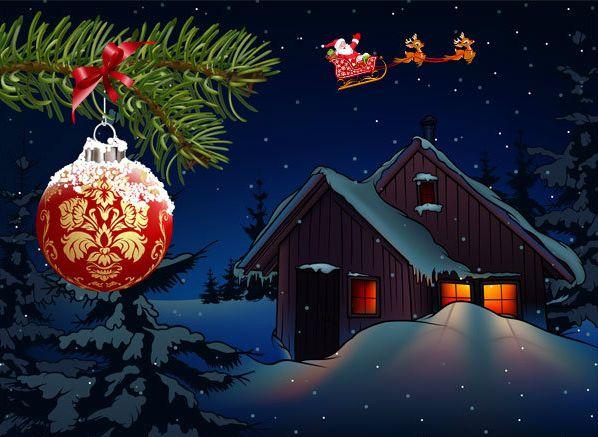 Коледна тиха нощ!