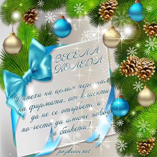 Весела Коледа на колегите