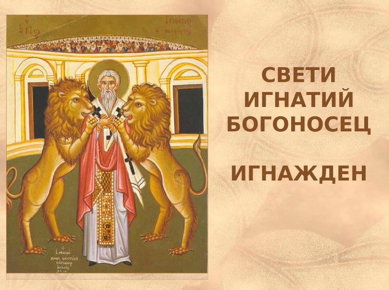 Игнажден - Свети Игнатий Богоносец